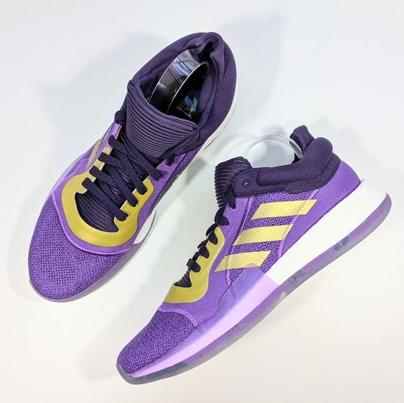 adidas marquee boost low purple